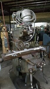 Bridgeport Mill 9 X 42 Table Step Pulley Its A Pole Barn Addition