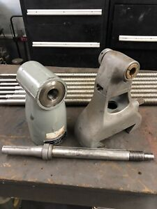 Bridgeport Right Angle 90 Degree Horizontal Milling Attachment Complete Set