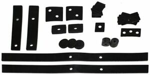 1940 Ford Convertible Body Mounting Pad Kit