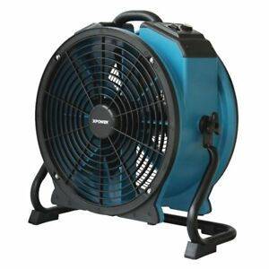 X 47atr Pro Axial Air Mover dryer fan With Timer Power Outlets 848025041345