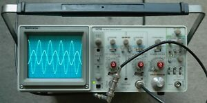 Tektronix 2235 100mhz Two Channel Oscilloscope Calibrated 2 Probes Sn B033069