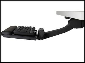 Humanscale Keyboard Tray System Under Desk 21 625 Track New In Box