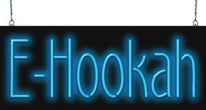E Hookah Neon Sign Jantec 2 Sizes Hookah Bar Hookah Supplies Smoke