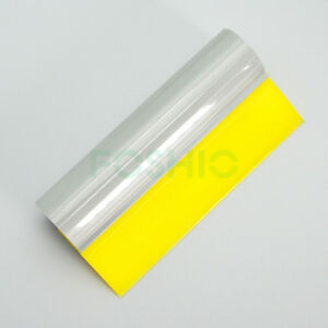 5 5 Turbo Squeegee Rubber Blade Water Wiper Scraper Vinyl Film Wrapping Tools