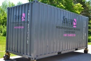 20ft Shipping Container Cargo Industrial Storage Unit Used