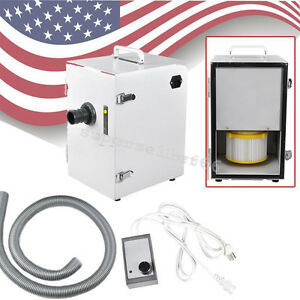Dental Denshine Single Row Impeller Dust Collector Vacuum Cleaner Cleaning usa