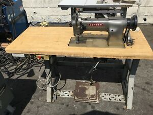Consew Heavy Duty Industrial Sewing Machine W Table 400w Single Phase