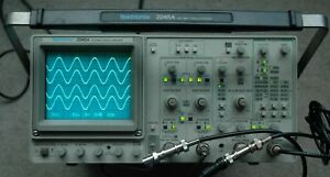 Tektronix 2245a 100 Mhz Oscilloscope Calibrated B022151 Two Probes Power Cord