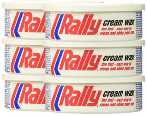 Cyclo Rally Cream Car Wax 10 Fl Oz Pack Of 6 Cyc82116 6pk