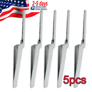5pcs Dental Articulating Paper Tweezers Holder Forceps Instrument High Quality