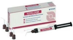 Total Cem 8gm Self Etch Adhesive Permanent Resin Cement Itena Dental