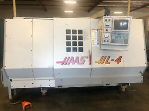 1996 Haas Hl 4 Cnc Turning Center W tooling