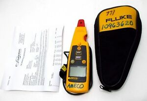 New Fluke 771 Milliamp Process Clamp Meter 2018 2019 Calibration Included