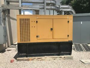 Caterpillar Olympian D125p1 125kw Generator With Diesel Tank Only 540 Hrs