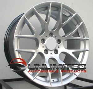 19x8 5 9 5 5x120 37 30 M3 Style Silver Wheels Fit Bmw E46 325i 330i