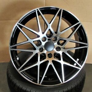 Bmw M3 Style 19x8 9 5x120 35 37 Bmf Wheels Set Of 4 Fit E46 325i 330i Z4