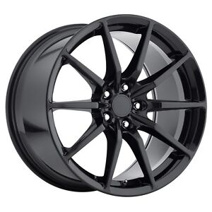 Mrr M350 19x10 11 Black Flowforged Staaggered Wheels Fit Mustang Shelby Gt350r