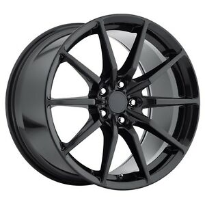 Mrr M350 19x10 11 Et40 55 Gloss Black Wheels Fit Ford Mustang Shelby Gt 500 05