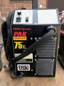 Thermal Dynamics Pak 75 Xl Plasma Cutter Hobart Miller Lincoln