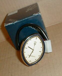 Genuine Maserati Biturbo Original Lasalle Clock Brand New Oem Part 313620117
