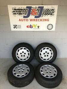 98 99 00 Toyota Camry 14 Inch Wheel Tire Hubcap Wheelcover Oem Set Of Four