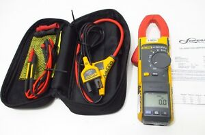 Fluke 381 Remote Display True Rms Ac dc Clamp Meter W Calibration Calibrated
