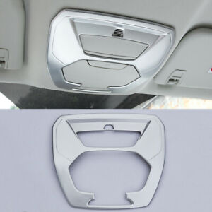 For Ford Kuga Escape 2013 2017 Abs Chrome Interior Front Reading Light Lamp Trim