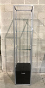 Retail Metal E tagere Tower Display Shelf From The Limited Stores
