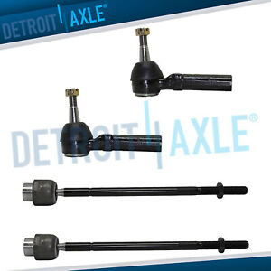 All 4 Steering Inner Outer Tie Rod End Links Chevy Impala Grand Prix Regal
