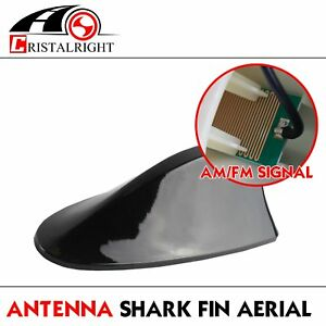 For Car Shark Fin Antenna Vortex Stereo Cover Amplifier Radio Signal Aerial