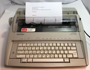 Brother Gx 6750 Electronic Typewriter Electric