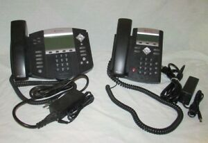 Polycom Soundpoint Ip550 And Ip335 Voip Digital Telephones