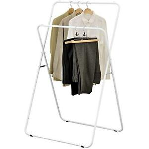 56 inch Folding Metal A frame Garment Display Rack Retail Clothing Stand