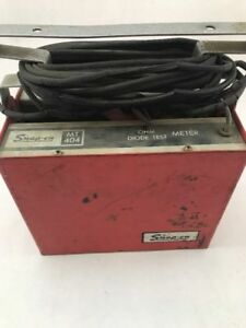 Snap On Tools Mt 404 Diode Tester