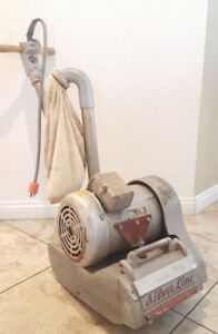 Silver Line Drum Sander Model Sl 8 Floor Sander