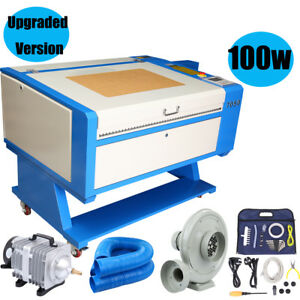 100w Co2 Laser Engraving Cutting Machine 700x500mm Usb Cutter W Water Air Pump