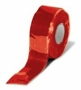 Self Fusing Silicone Rubber Tape Red 1 Inch X 20 Foot 500f