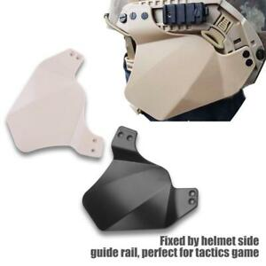 Airsoft Helmet Side Cover for Fast IBHMich Helmet Rail Military Ear Protection