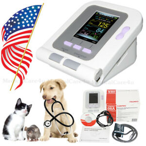 Fda Vet Veterinary Oled Digital Blood Pressure heart Beat Monitor Nibp Contec08a
