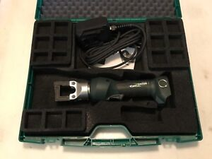 Greenlee Gator 4 ton 120v Ac Adapter Corded In line Crimper Ek410lx120