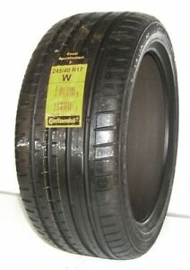 New Continental Tire 245 40r17 Continental Contisportcontact 2 Mo 91w 2454017