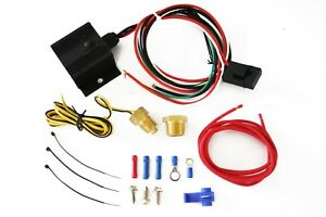 Adjustable Electric Cooling Fan Controller W Wiring Harness 150 240 Degree