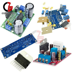 Tda7293 Stereo Amplifier Pcb Board Diy 100w 50wx2 Board Soldered Kit 85w 85w Ic