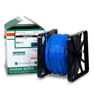 Honeywell Genesis 24 1p Rs 485 Communication Cable 1000 Ft Reel in a box Blue