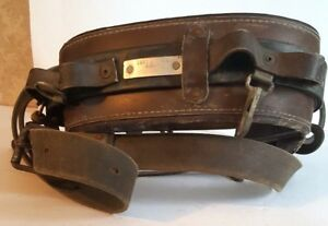 Buckingham 2951 Leather Utility Pole Lineman Tree Climbing Belt Climbing Strap
