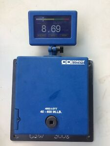 Snap On Cdi Torque Products 3 8 4002 i dtt Digital Torque Tester 40 400in lb