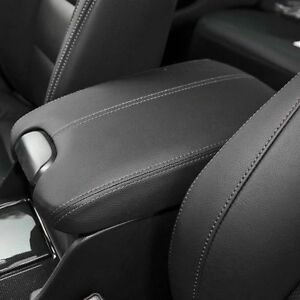 Armrest Center Console Lid Cover Leather Synthetic For 2008 2012 Honda Accord