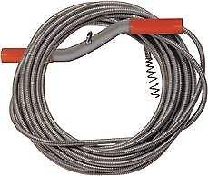 Drain Auger Drop Head Cable 1 4 In X 25 Ft