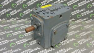 Used Boston Gear 71815g 30 Gear Speed Reducer 15 1 Ratio