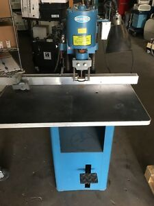 The Challenge Machinery Co model Jf Paper Drill 115v 6a 1phase